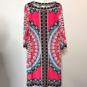 ECI Large Multi Color Dress